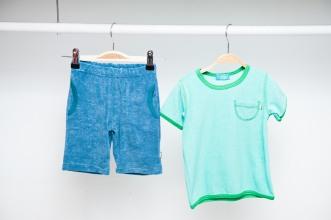 Frottee-Shirt und -Hose im Retrostyle reduziert Shirt   jetzt für 19,95€ Hose jetzt für 21,95€