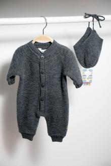 Kuscheliger Babyoverall 100% Merinowolle 54,95€